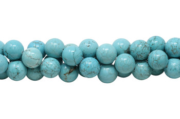 Howlite Turquoise Polished 20mm Round