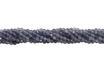 Iolite Polished 2.5mm Faceted Round - Light