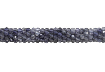 Iolite Polished 3.5mm Faceted Round