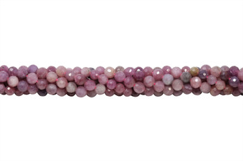 Ruby Polished 5mm Faceted Round