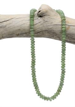 Green Kyanite Polished 8x5mm Rondel