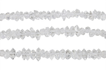 Herkimer Diamond Polished 4x10mm Raw Nugget Points