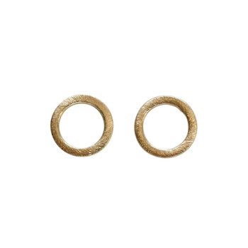 Open Ring 12mm - Light Gold Plated