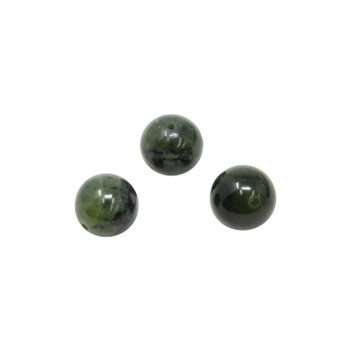 Nephrite Jade Polished 12mm Round