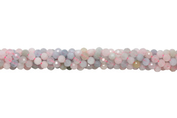 Beryl Polished 4mm Faceted Round