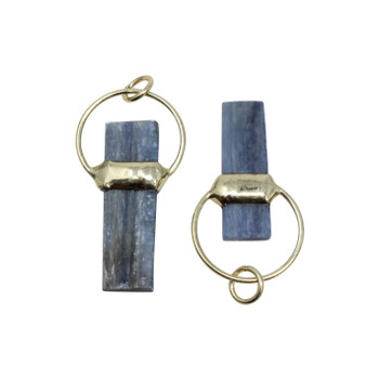 Kyanite Rectangle with Ring Pendant