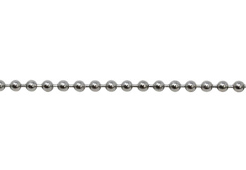 Stainless Steel 3mm Ball Chain - Sold By 6 Inches