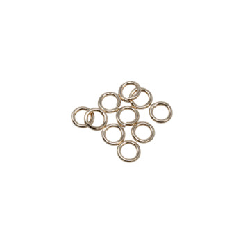14K Gold Filled 5mm Round 19 Gauge OPEN Jump Rings - 10 Pieces