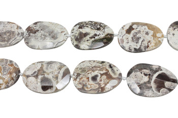 Imperial Jasper Natural Polished 50x35mm Faceted Oval
