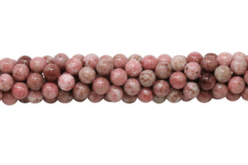 Thulite Polished 8mm Round