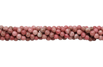 Thulite Polished 6mm Round
