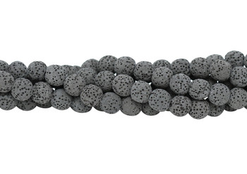 Bead World Exclusive Lava Rock Uncoated Natural 10mm Round