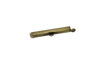 Antique Brass 30mm Slide Tube