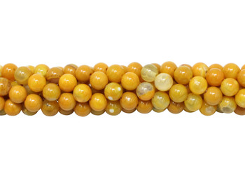 Yellow Fire Agate Polished 6mm Round