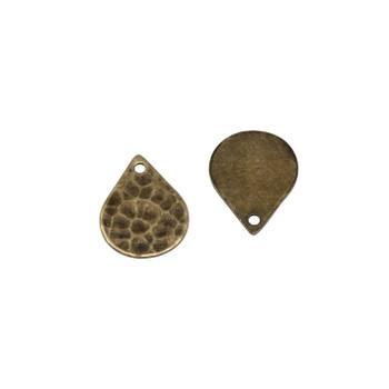 Antique Brass 10x13mm Drop