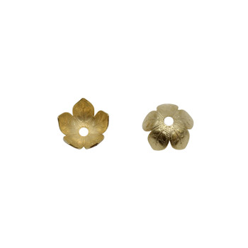 Gold Plated 8mm Cap
