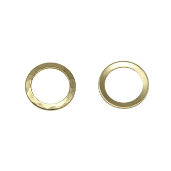 Gold Plated 13mm Ring