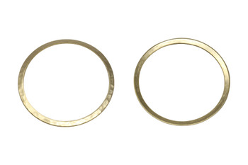 Gold Plated 33mm Ring
