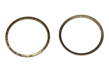 Antique Brass Plated 33mm Ring