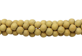Jackfruit Wood Matte No Wax 10mm Round