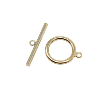 14K Gold Filled 15mm Toggle and Eye Set