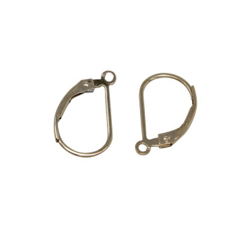 14K Gold Filled Plain Leverback Earrings - Sold as a Pair