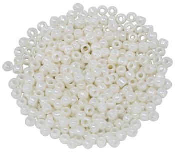 Size 6 Toho Seed Beads -- 421 Ivory Pearl