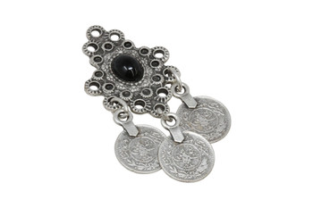 Zamak Cascading Coin Pendant