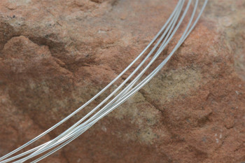 Sterling Silver Wire - Round - 20 Gauge - Half Hard - 1/2 Ounces