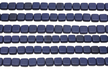 CzechMates® 6mm 2 Hole Tile -- Matte Navy