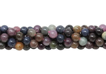 Ruby & Sapphire Polished 6mm Round