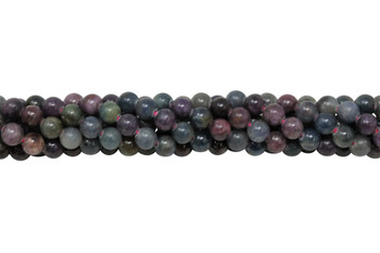 Sapphire & Ruby Polished 6mm Round