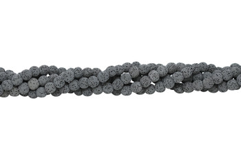 Bead World Exclusive Lava Rock Uncoated Natural 9mm Round