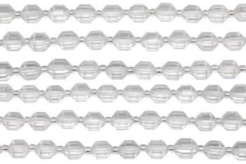Crystal Quartz Polished 8mm Energy Tube
