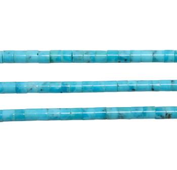 Sleeping Beauty Turquoise Polished 3-3.5mm Heishi
