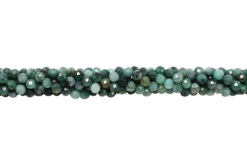 Emerald Polished 4.5mm Faceted Round