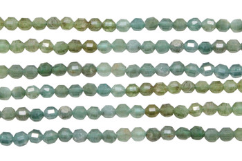 Green Apatite Polished 4mm Banded Energy Tube