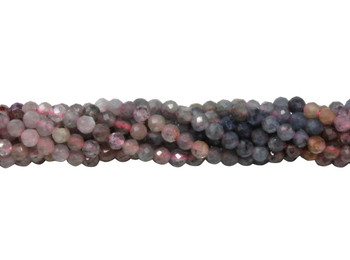 Ruby / Sapphire Polished 2.5mm Faceted Round