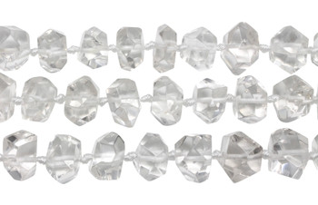 Crystal Quartz A Grade Polished 9x14mm Nugget