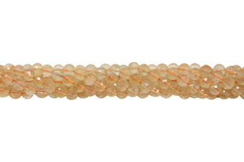 Citrine Natural Polished 6mm Faceted Round