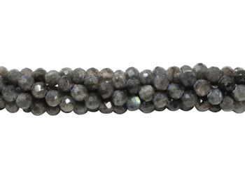 Labradorite A Grade Polished 5mm Faceted Round