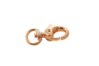 Copper 30x15mm Swivel Lobster Claw Clasp
