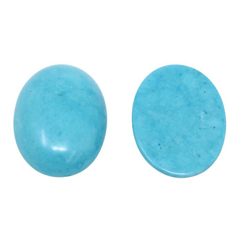 Magnesite Polished 18x25mm Oval Cabochon
