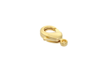 Satin Hamilton Gold 15x9mm Lobster Claw Clasp