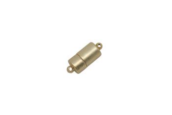 Satin Hamilton Gold 17x7mm Magnetic Barrel Clasp