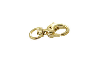 Gold 30x15mm Swivel Lobster Claw Clasp