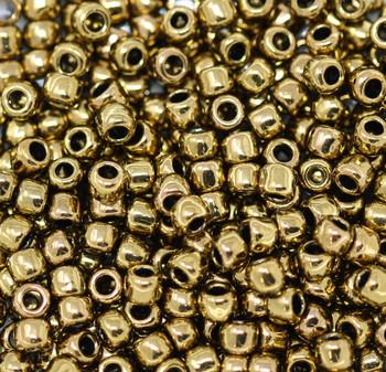 Size 6 Toho Seed Beads -- 457 Metallic Bronze