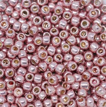 Size 6 Toho Seed Beads -- P475 Galvanized Light Pink