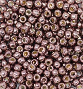 Size 6 Toho Seed Beads -- P490 Galvanized Mauve