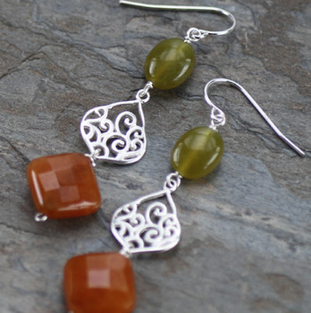 Moroccan Wave - Sterling Silver